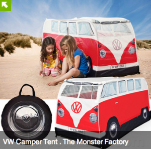 VW Kids Camper Tent - The Monster Factory USA